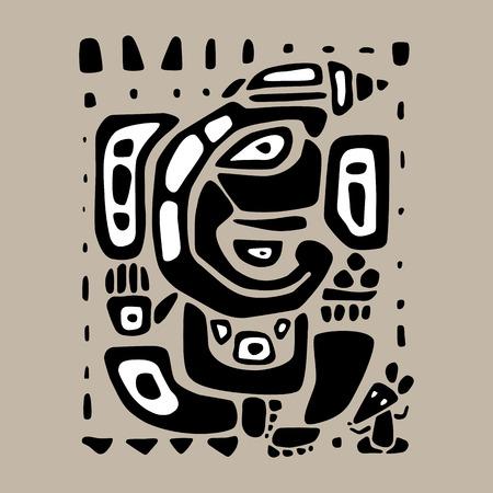 ganapati: Ganpati, Hindu God Ganesha. hand drawn illustration