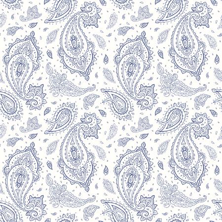 Beautiful seamless background. Elegant Hand Drawn vintage Pattern Ilustração