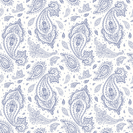 Beautiful seamless background. Elegant Hand Drawn vintage Pattern Vectores