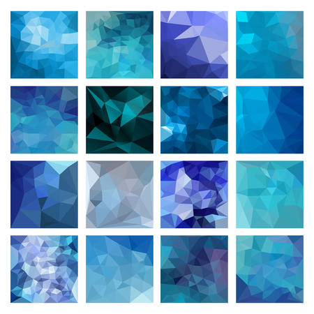 vector backgrounds: Polygonal vector design. Abstract backgrounds Geometric illustration