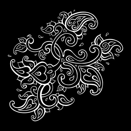 Paisley Ethnic ornament. Illustration
