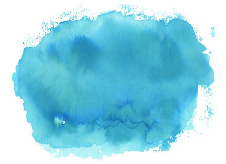 Abstract watercolor hand drawn background.