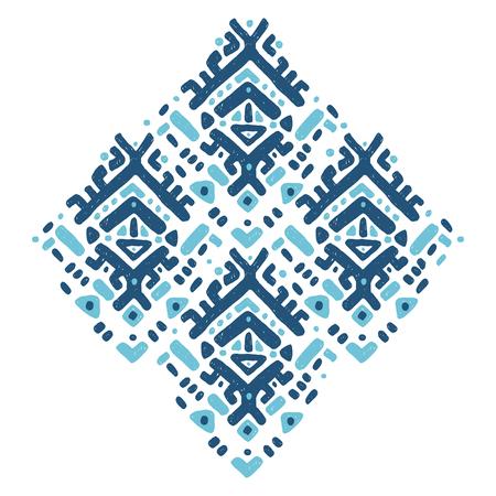 Ornement Ikat. Motif tribal Vecteurs