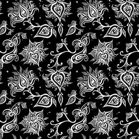 Paisley Vintage Seamless pattern Illustration