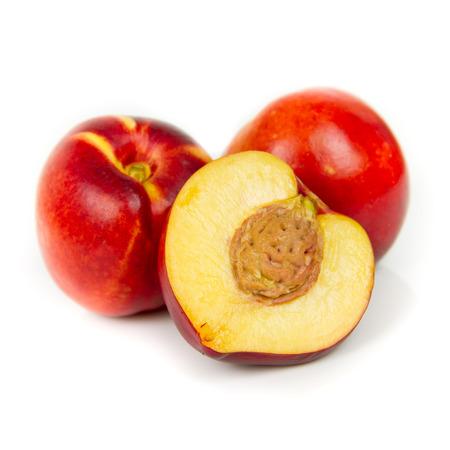 nectarines Standard-Bild