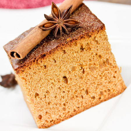 spice cake: gingerbread