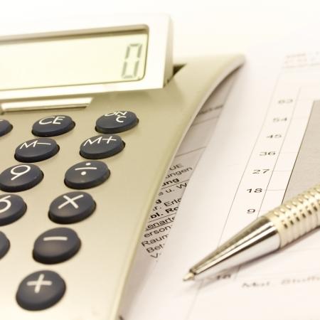 calculator Standard-Bild