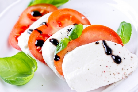 tomato and mozzarella photo