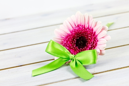 pink flowers for present
