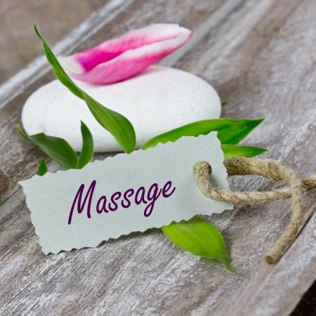 Massage Standard-Bild - 25163537