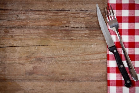 fork and knife photo