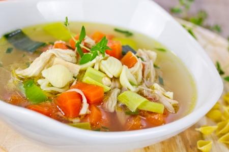 chicken soup Zdjęcie Seryjne