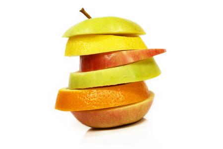 sliced fruits photo
