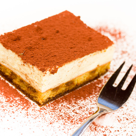 close up food: tiramisu