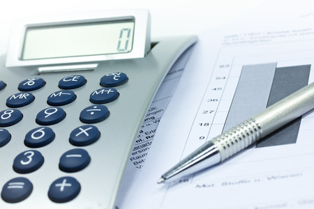 calculator 版權商用圖片