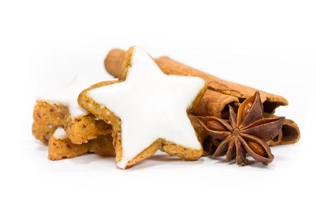 baking christmas cookies: xmas cookies