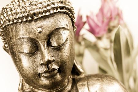 massage symbol: buddha Stock Photo