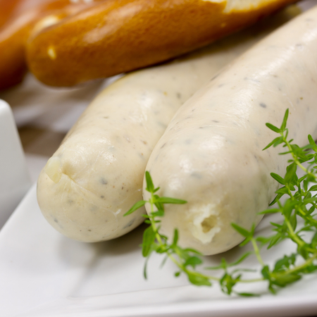 german weisswurst photo