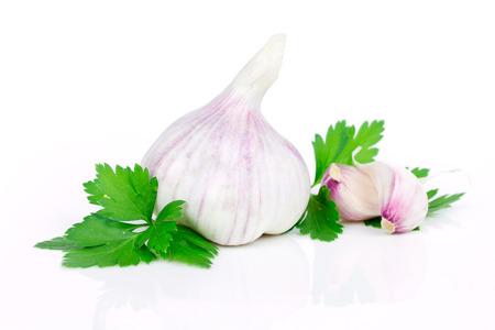 garlic 写真素材