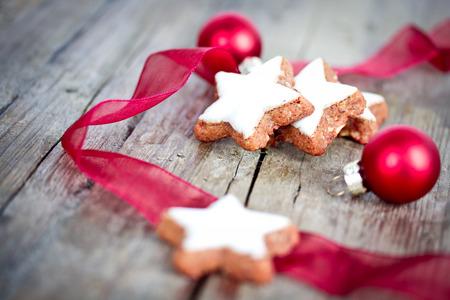 estrella: Galletas de Navidad