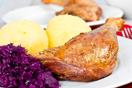 with duck: pato con alb�ndigas