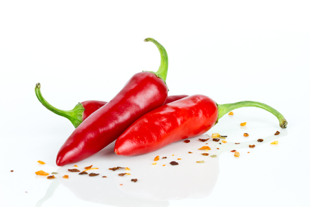 spicy cooking: chili peppers