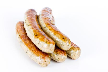 chorizos asados: grilled sausages