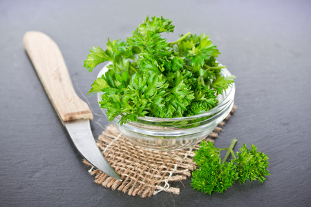 Healthy parsley
