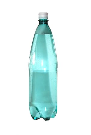 Bottle isolated on a white background. photo