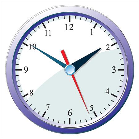 壁掛け時計。