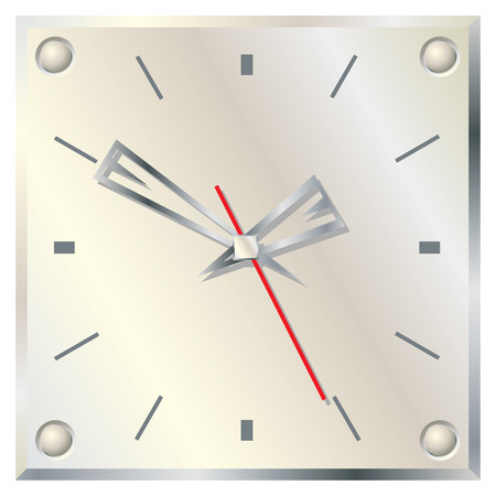 Wall clock. Stock Vector - 6503930
