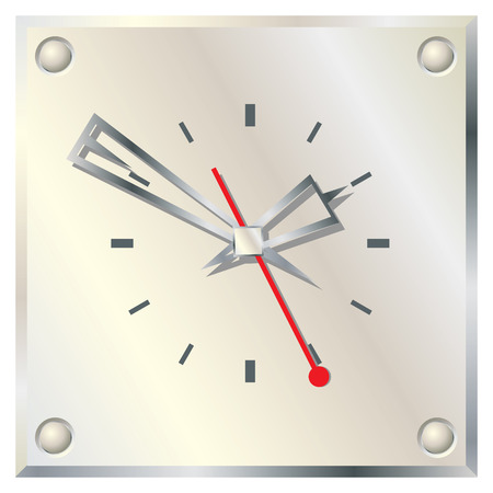 Wall clock. Stock Vector - 6503932