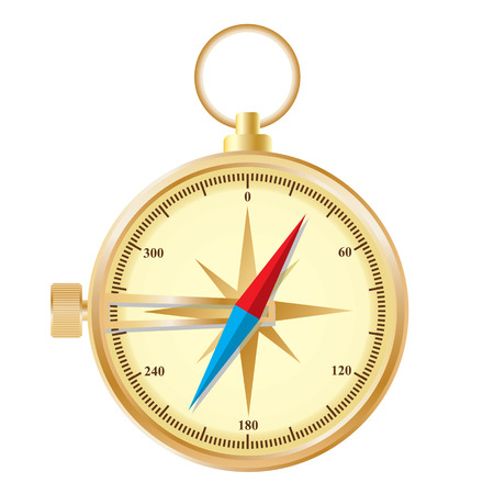 Compass. Stock Vector - 6503899