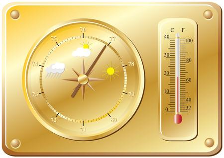 meteorologist: Barometer for determination of weather.