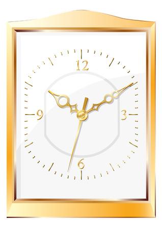 Wall clock. Stock Vector - 6503891