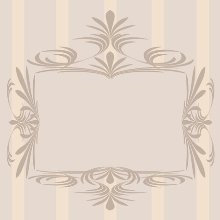 Decoration vintage element. Floral style. Stock Vector - 6578824