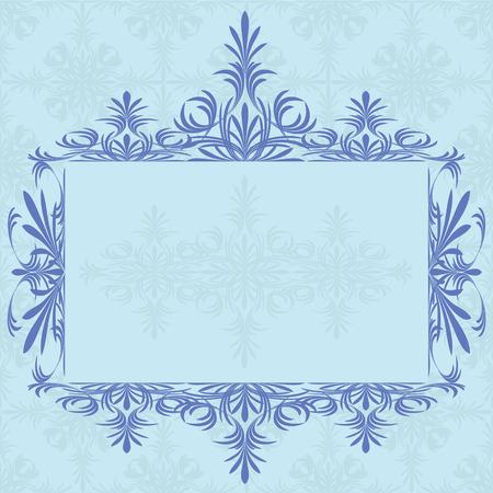 Decoration vintage element. Floral style. Stock Vector - 6578839