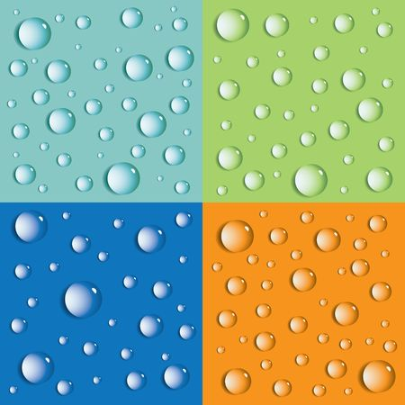 Abstract background with drops.