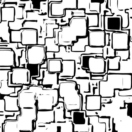 Background with squares. Ilustração