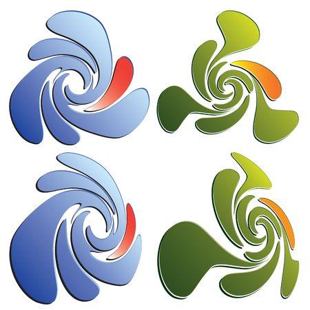 Graphic element. Graphic desing illustration. Stock Illustration - 6798349