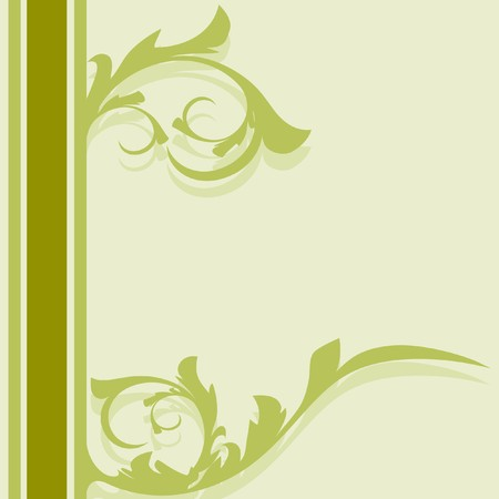 Decoration vintage element. Floral style. Seamless. Vector