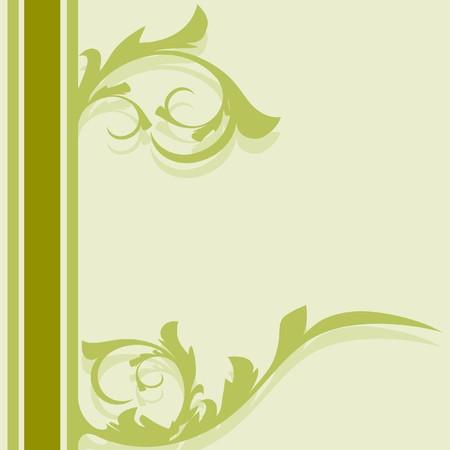 Decoration vintage element. Floral style. Seamless. Vector