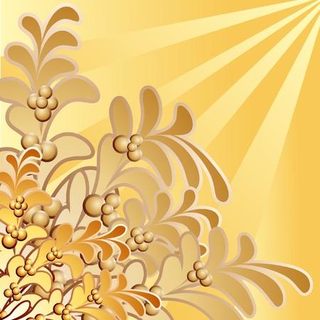 Design floral element. Vector illustration. Vector