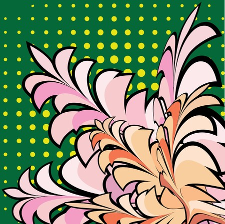 Design floral element Vector