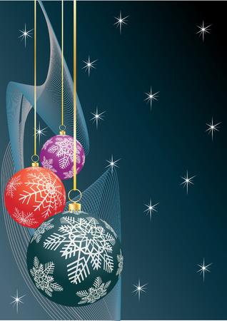 Snowflakes.  illustration. Vector