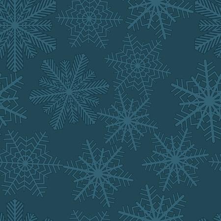 Snowflakes. Vector