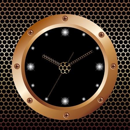 wall clock: Wall clock. Illustration