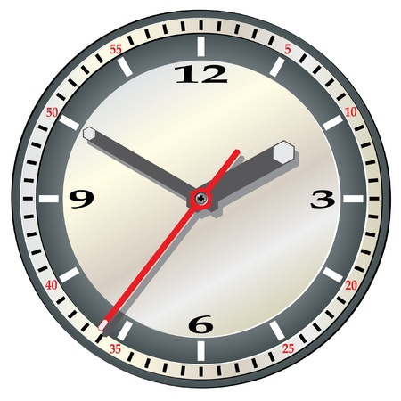 reminder icon: Wall clock.