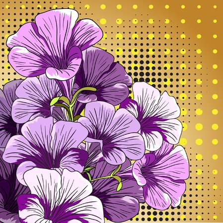 Design floral element. photo