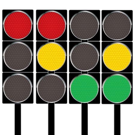 Traffic lights.  photo